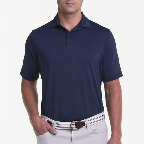 Solid Tech Jersey Polo