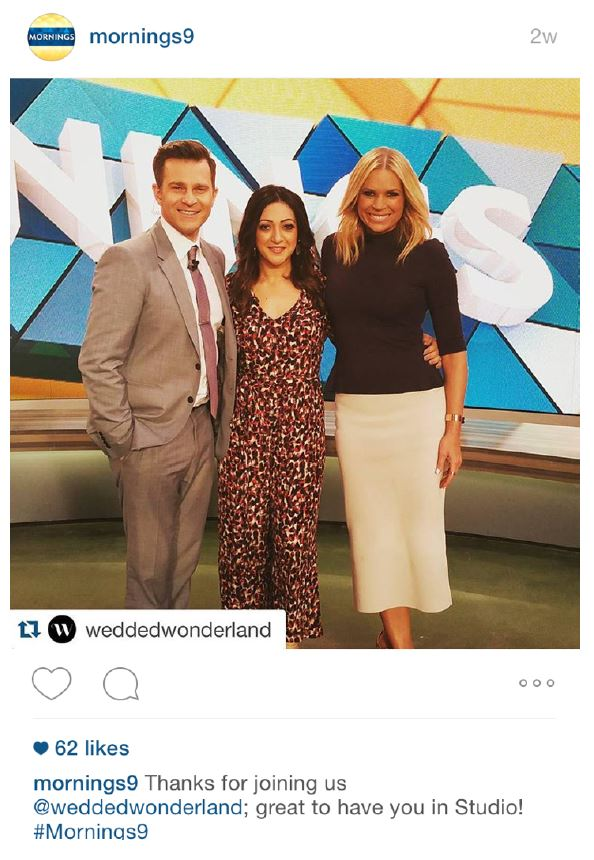 INSTAGRAM - @MORNINGS9