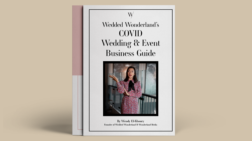 COVID Wedding & Event Business Guide