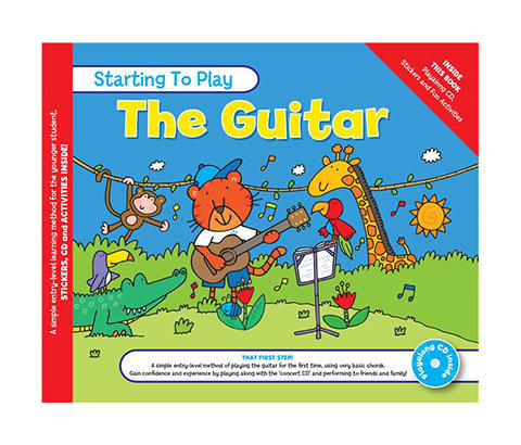 Starting to Play The Guitar Book and CD