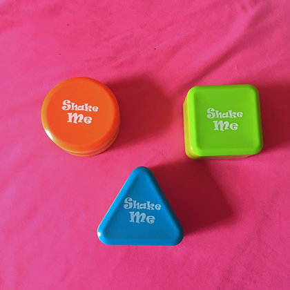 Shaped Shaker Set of 3