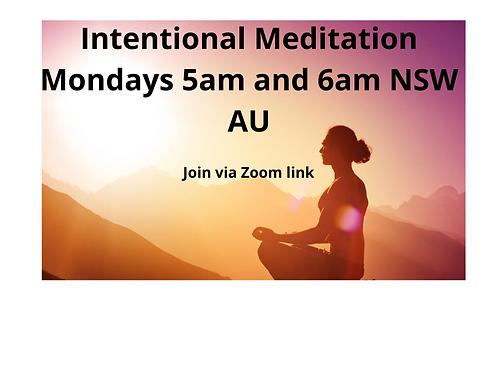 Intentional Meditations