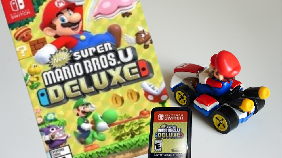Super Mario Bros. U Deluxe (Nintendo Switch)