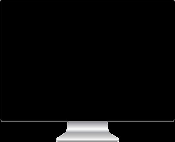 iMac screen image
