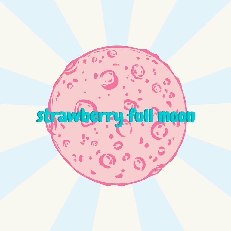 Strawberry Full Moon Sound Bath
