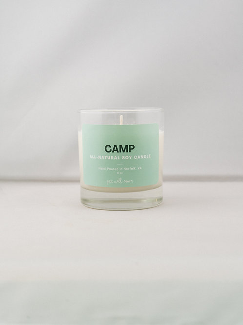 GWS Candle - Camp
