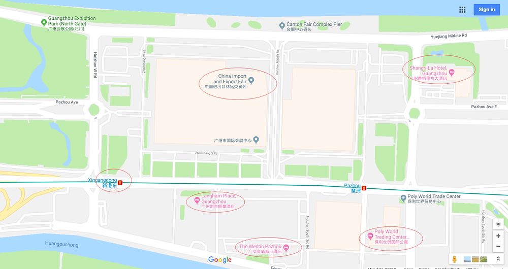 4.the 124th Canton Fair 2018 Map guide-james xu_zion communication_hello signal