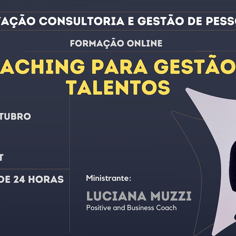 Formação Coaching para Gestão de Talentos