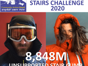 Glyn & Jon 'Climbing' Everest - 8,848m - Celebrating the 1975 Summit for CAN!