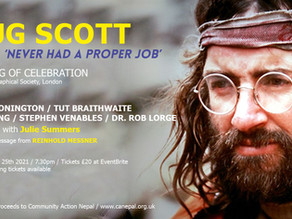 Doug Scott: Never Had a Proper Job: A celebration of Doug's life