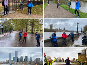 'Three Profs' Go Walking For Nepal... And raise over £2,500!