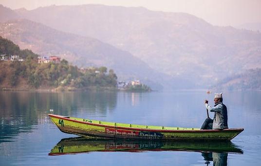 Boating In Fewa Lake, Pokhara