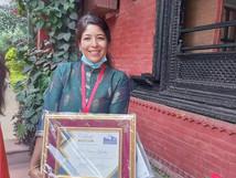NURSE SHOVA KHADKA AWARDED 'STAFF MEMBER OF THE YEAR'