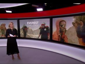 Community Action Nepal on BBC News! The Everest Challenge & 45th Anniversary Celebration
