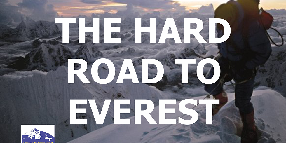 SQUARE CHAPEL, HALIFAX: The Hard Road To Everest with Doug Scott