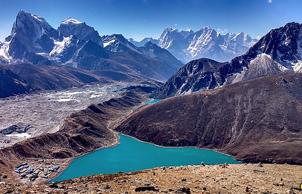 Gokyo Lake and Gokyo valley