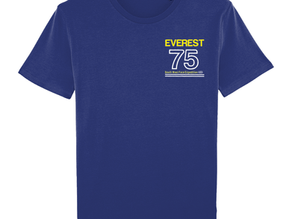 Exclusive Limited Edition Everest '75 T Shirts