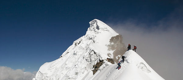 Nepa Peak climbing trekking