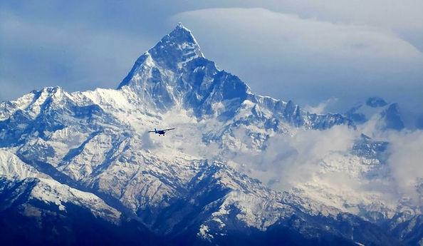 Machapuchare Mountain (Himal ).