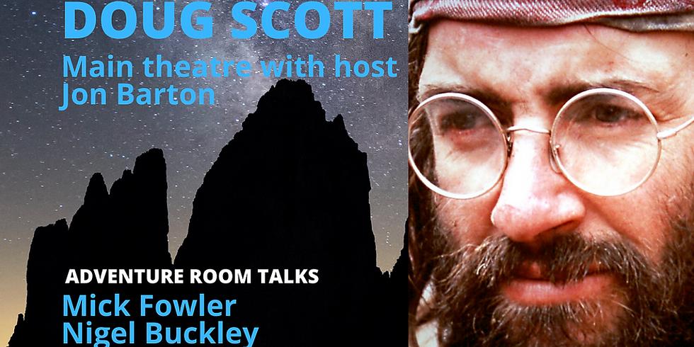 LONDON MOUNTAIN FILM FESTIVAL: Doug Scott Interviewed by Jon Barton