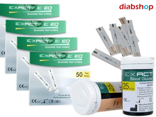 4 x Exactive EQ Simple แถบทดสอบ Test Strips