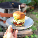 Wood Fired Cheese Burger