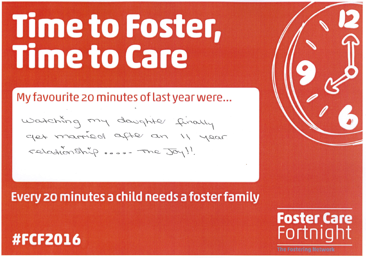 Time to Foster, Time to Care Helen Smith