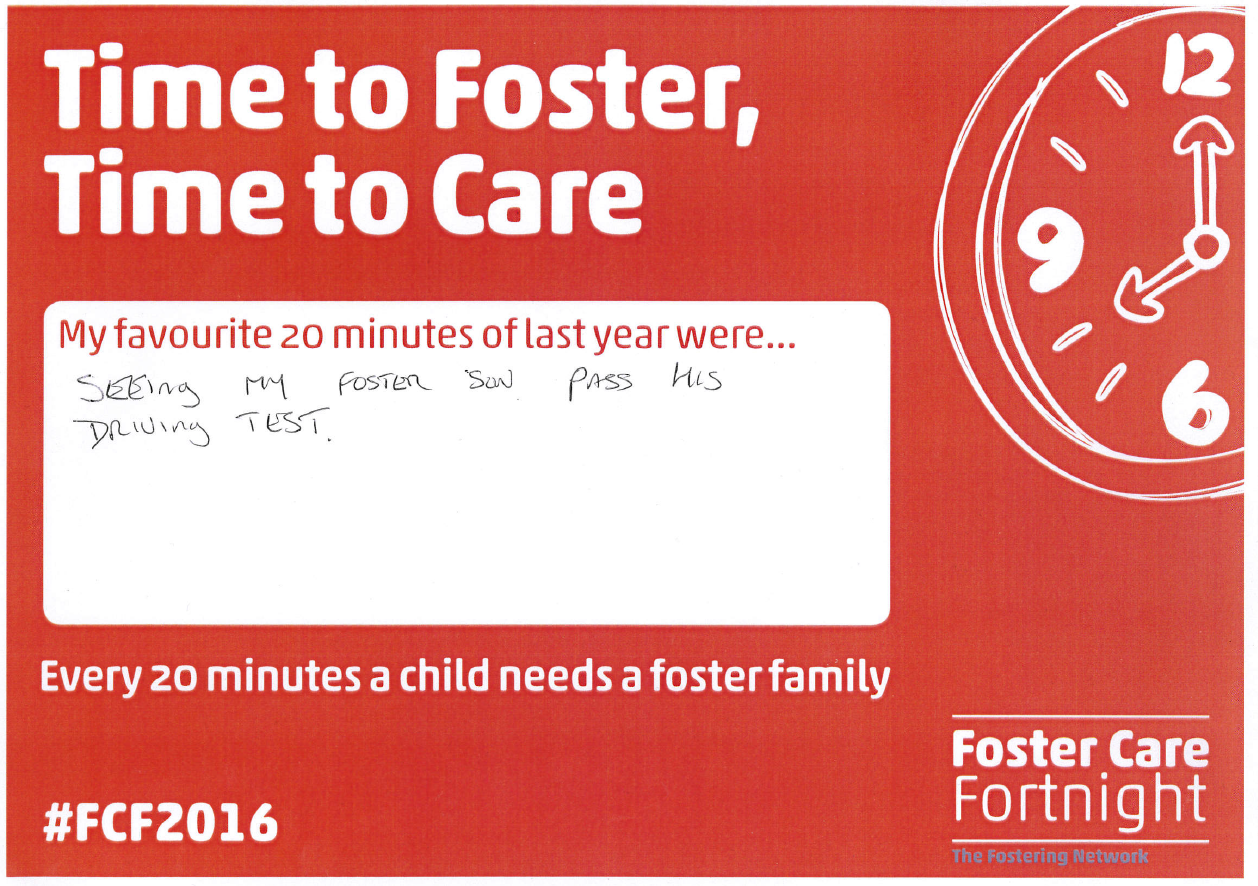 Time to Foster, Time to Care Janet C