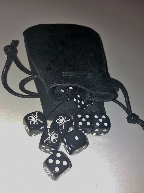Unlucky Frog Dice Set