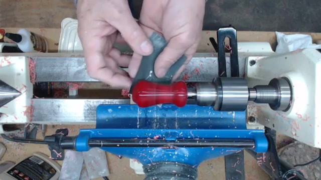 Turning a acrylic bottle stopper