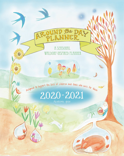 2020-2021 Around The Day Academic Year Planner