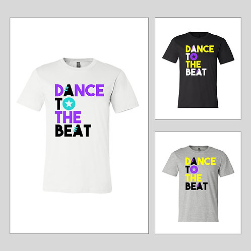 Dance to the Beat Crew Neck T-Shirt