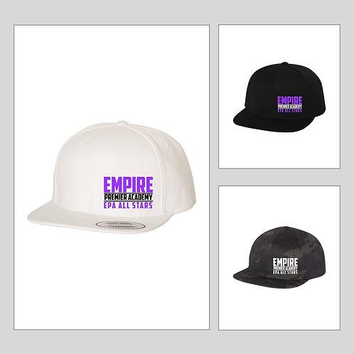 Flat Bill Snap Back Hat