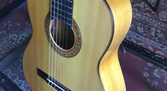 New Paracho Flamenco Guitar