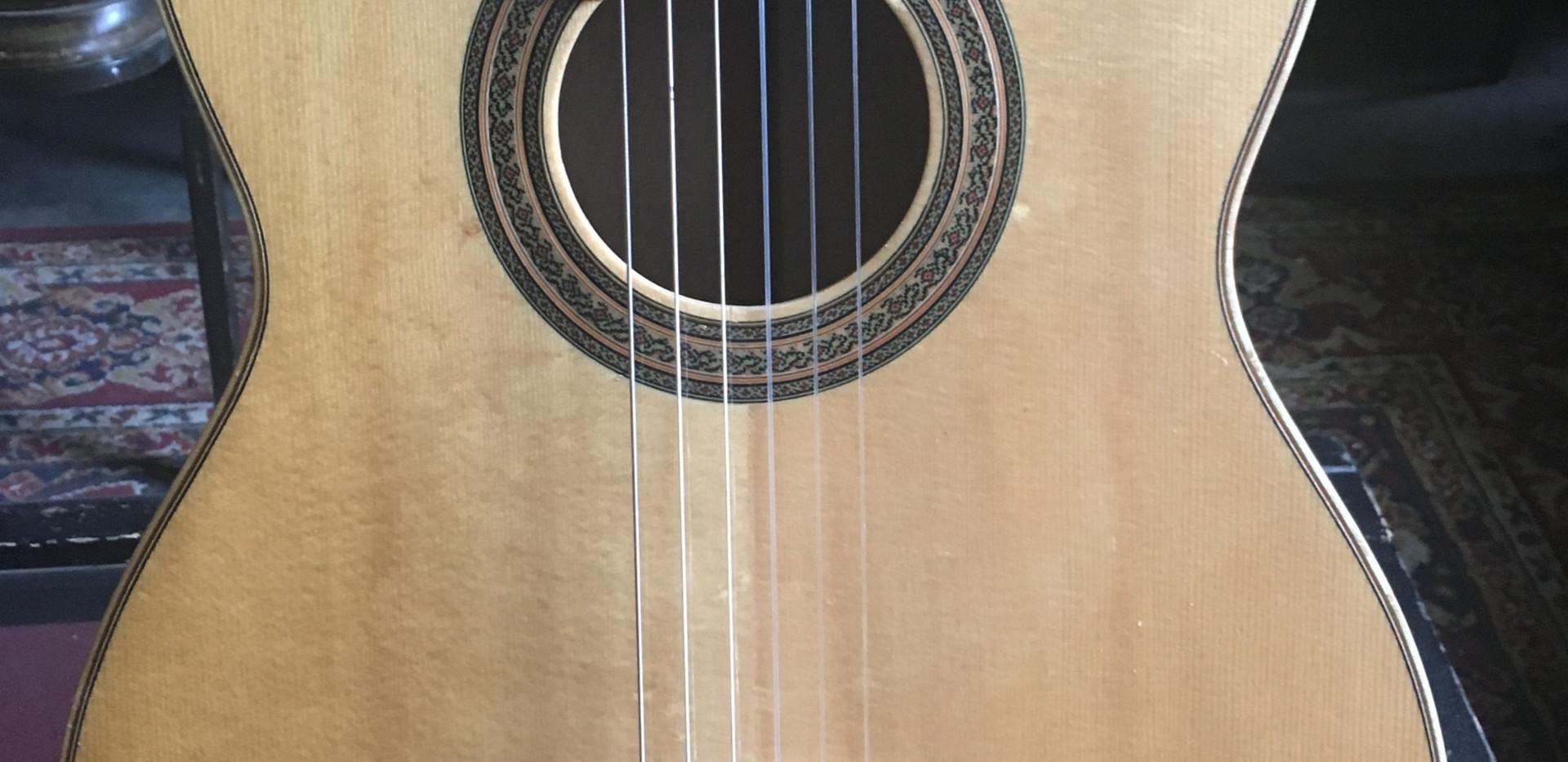 Imported Paracho classical guitar