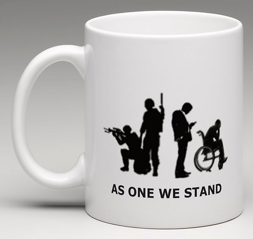 AS ONE WE STAND CUP