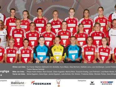 Frauen 1 in der neuen Saison in der Württembergliga Nord