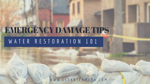 Water Restoration 101: Emergency Damage Tips