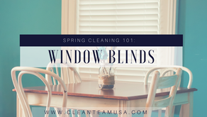 Spring Cleaning 101: Window Blinds