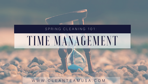 Spring Cleaning 101: Time Management