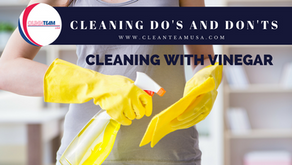 Cleaning Do's and Don'ts: Cleaning with Vinegar