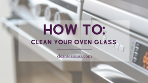 How to: Clean Your Oven Glass