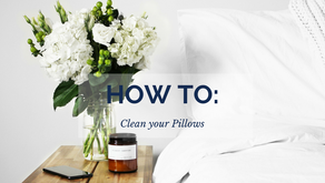 How To: Clean your Pillows