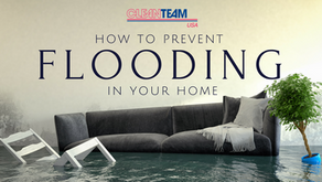 How to: Prevent Flooding in your Home