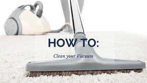 How to: Clean your Vacuum