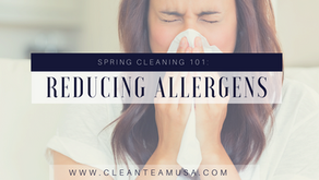 Spring Cleaning 101: Reducing Allergens