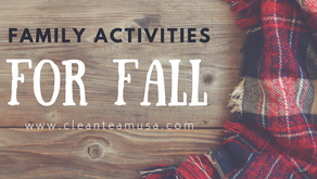 Family Activities for Fall