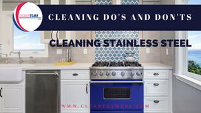 Cleaning Do's and Don'ts: Cleaning Stainless Steel