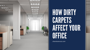 How Dirty Carpets Affect your Office