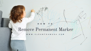How to: Remove Permanent Marker